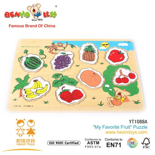''My Favorite Fruit'' Puzzle » YT1088A
