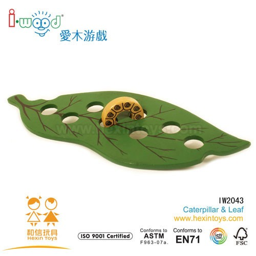 Caterpillar & Leaf » IW2043
