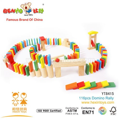 116pcs Domino Rally » YT8415