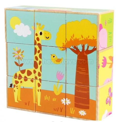 Forest Animal Wooden Puzzle  » 11012